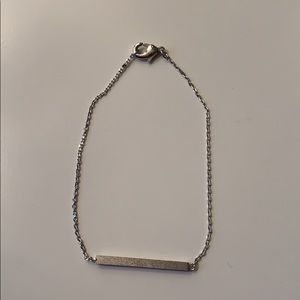 Jewelry - Silver Bar Chain Bracelet